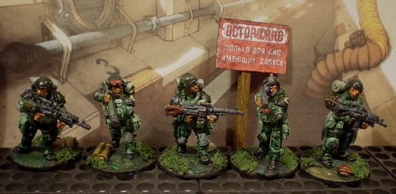 "Latest Lead Adventure soldiers. Russian ""Alpha"" team."
