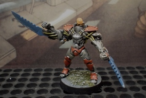 Icarus Trask from Urban War range. Close Combat Carnage.