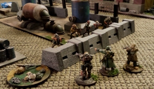 With the Vityaz team down, the STALKER guides rush the bandits, desperate to take the base.