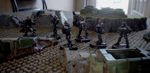 Reaper Chronoscope Nova Corps led by Sedition Wars fig