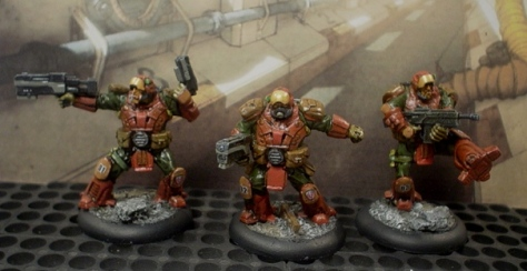 Commissar, Medic and Booster