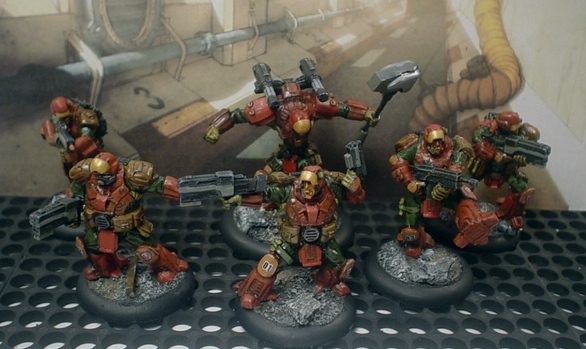 Rollin' like a glacier - a full-auto fire glacier. MERCS USCR with headswaps.