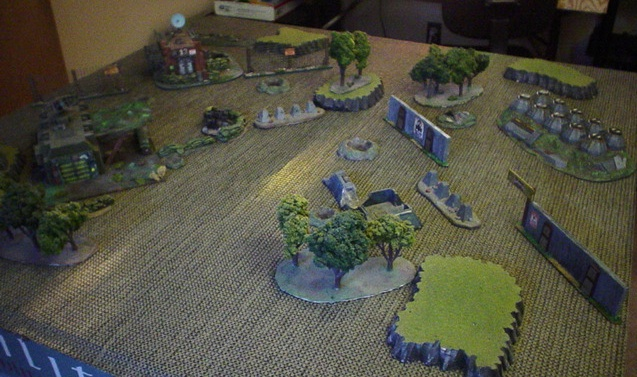 Battlespace from Haqq deployment zone.