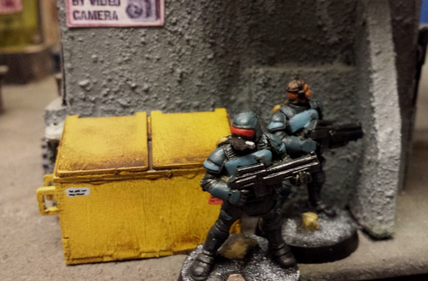 Pair of CE troopers on the right flank