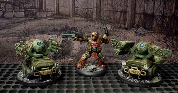 Indirect Fire Support for the Steel Glacier. Infinity drones.