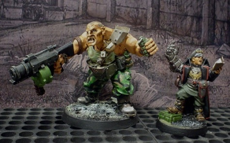 Never argue with an Ogryn. Unless you're in a tank.