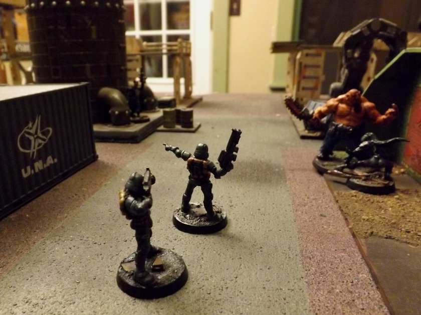 Skinny Jack is the Boss for a reason. He faces down the troopers in a fierce firefight.