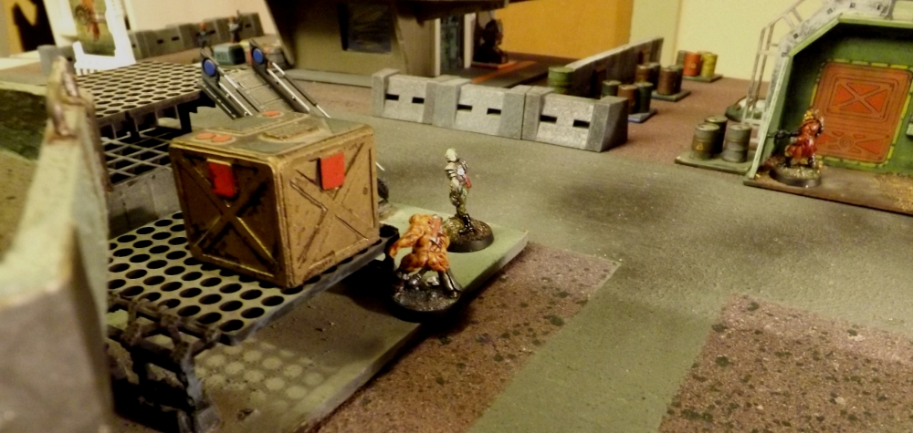 Krieg and Ganger slink forward to deal with the threat.