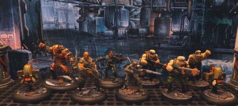 Full H+ crew. Augs, clones and drones.