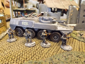 IFV  - the mighty 'Thunder Weasel' rides again.