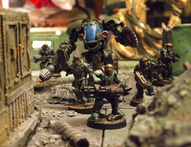FOR SALE: Painted Sci Fi forces