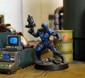 Blue Shift. Nomad CRISIS Unit: Covert Recon, Infiltration, Sabotage Intelligence Specialist