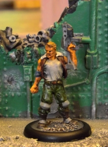 A Tales of War fig. Used as generic sci fi crewman