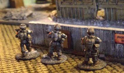 Fireteam Alpha advance on their left.