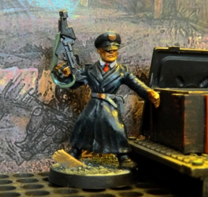 SST Marshall to act as Neo-Sov Commissar.