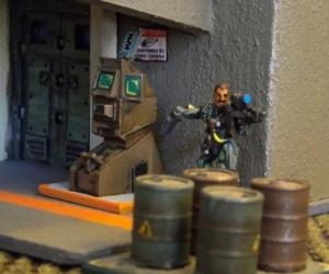 Timur Bok at the door, but he hears cops around the corner.