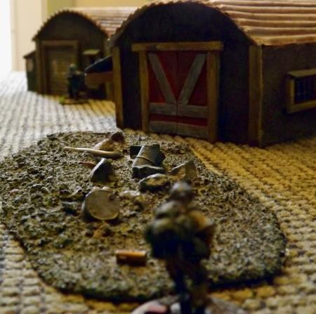 Bandits and Military trade shots.