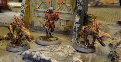 Shaman and Jackal-beasts
