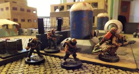 Old VOR Neo-Sov Rad-troopers with Chem Grunt