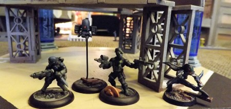 Infiltration Assets, Wasp drone and CQB Razor Specialist.