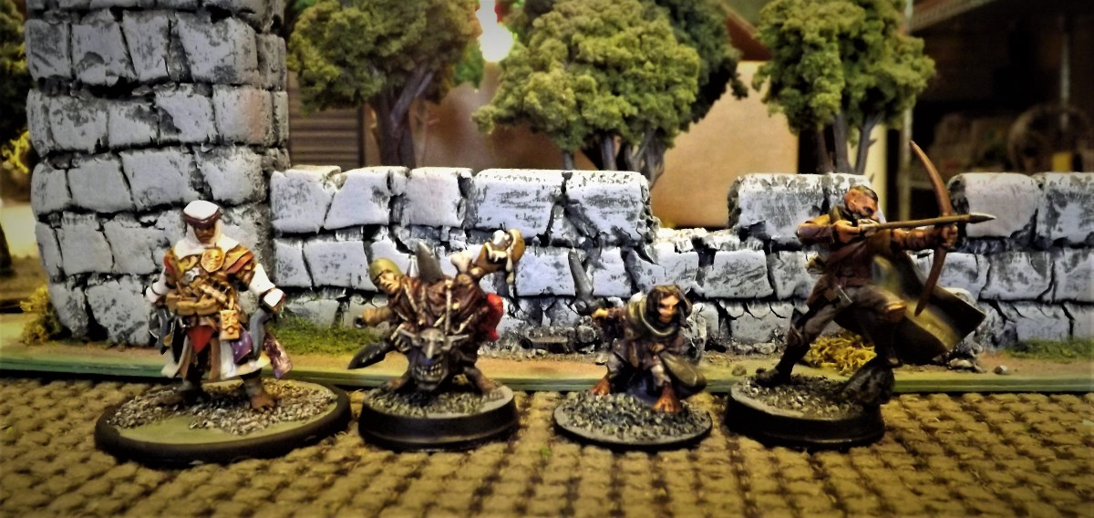 DnD characters and NewTerrain