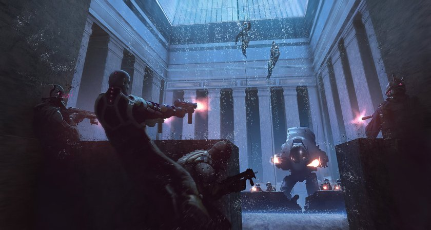 firefight_in_a_corporate_lobby_by_klauspillon-d83vk9o